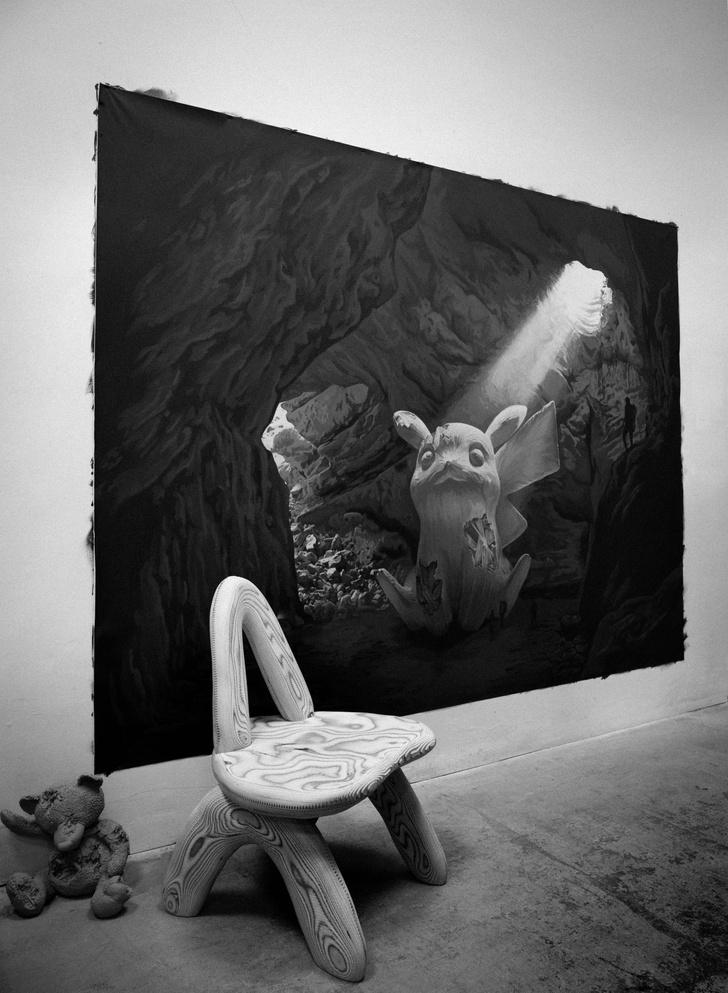 Фото №3 - Новая коллекция мебели Дэниела Ашрама на грани дизайна и арта