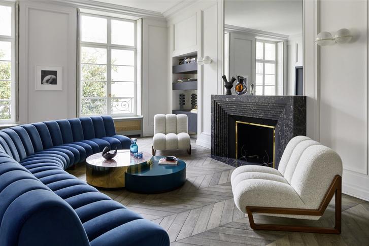 Фото №1 - Квартира в Париже по дизайну Humbert & Poyet