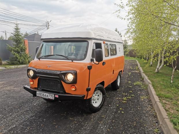 Фото №1 - УАЗ запускает в серию дом на колесах