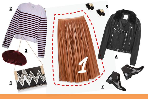Фото №3 - С чем носить плиссированную юбку