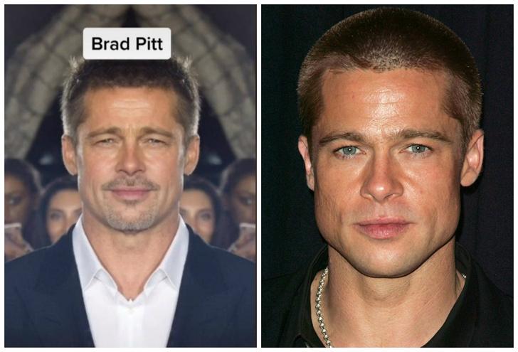 Фото №1 - Как выглядели бы знаменитости, если бы их лица были абсолютно симметричными (фото и видео)