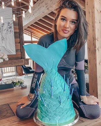 Ксения Бородина— мама-Рыбы