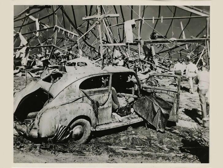 Фото №1 - История одной катастрофы: взрыв селитры в порту Техаса, 1947