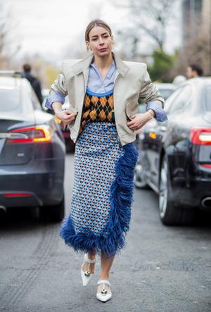 Фото №6 - Утепляемся: как носить теплый вязаный жилет (и где его найти)