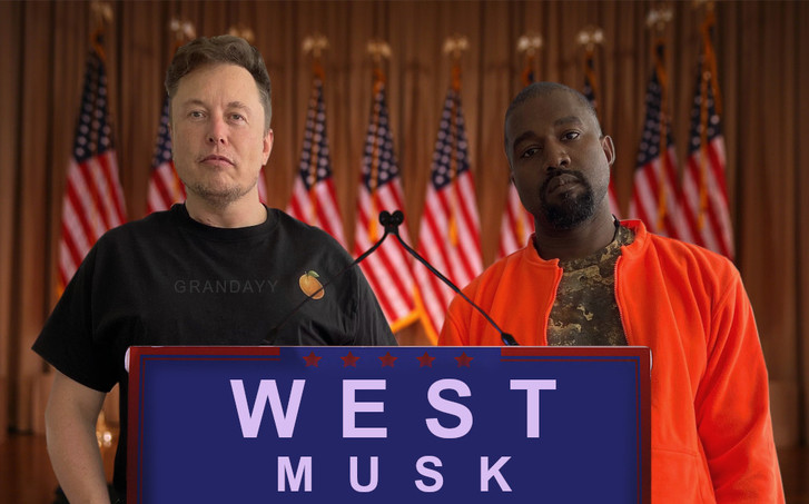 Фото №1 - Илон Маск поддержит Канье Уэста на выборах президента США