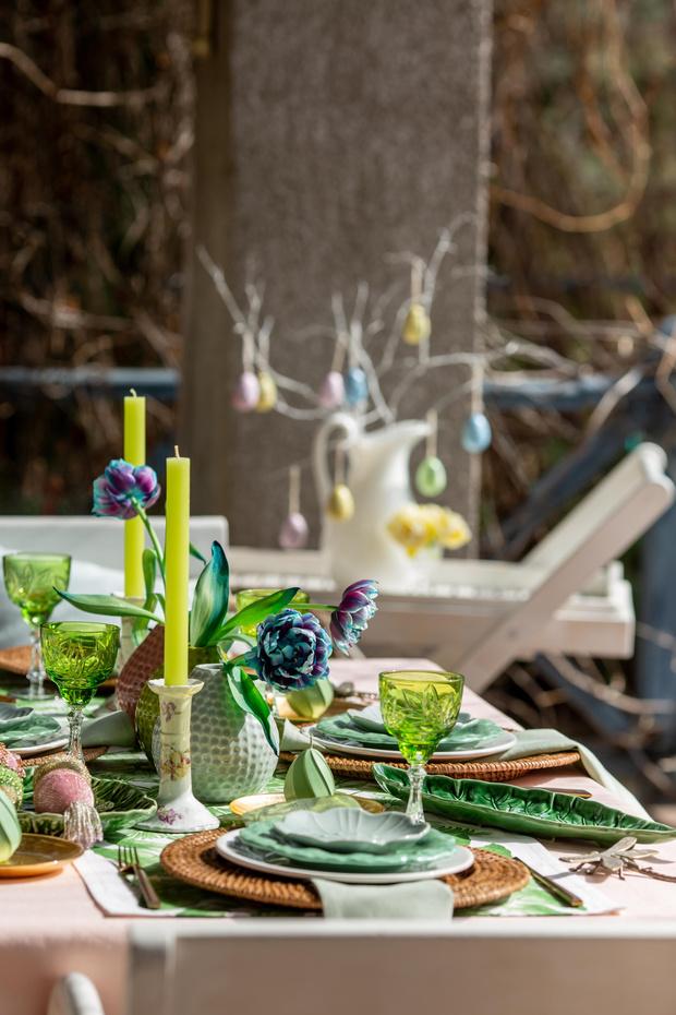 Фото №2 - Украшаем стол к Пасхе: идеи декора от Анны Муравиной