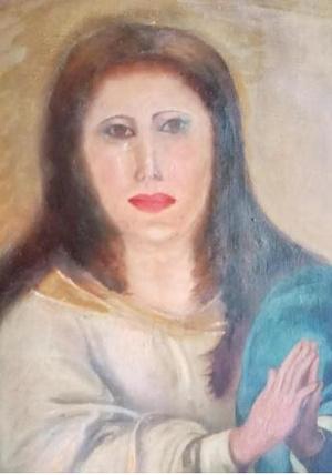 Фото №4 - Очередная бездарная реставрация картины: в Испании опорочили Деву Марию