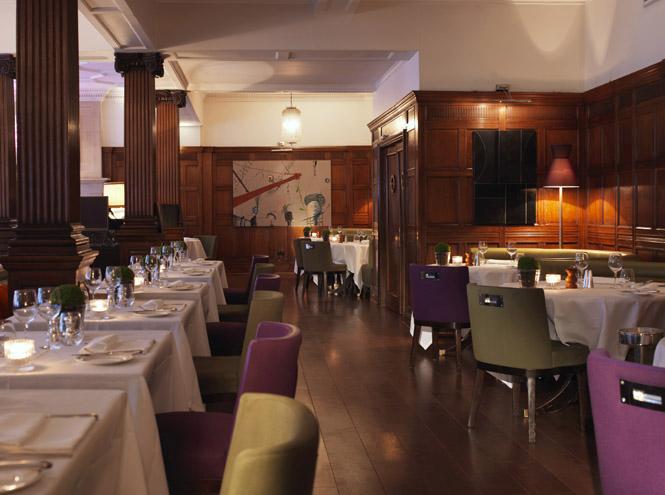 Ресторан HIX Mayfair при отеле Brown's London