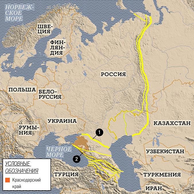 Фото №1 - Краснодарский край — это Европа или Азия?