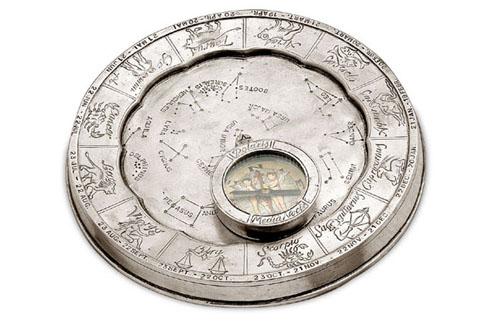 Компас с картой звездного неба