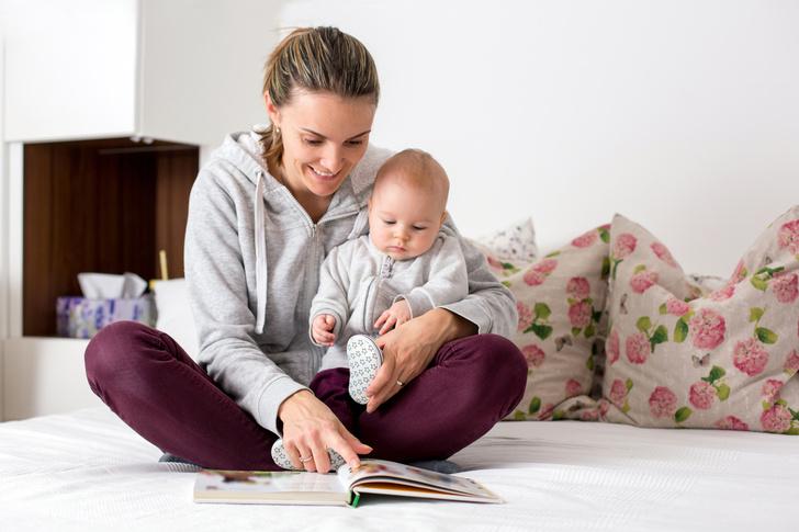 Фото №1 - Можно ли сажать двухмесячного ребенка на колени: мнение педиатра