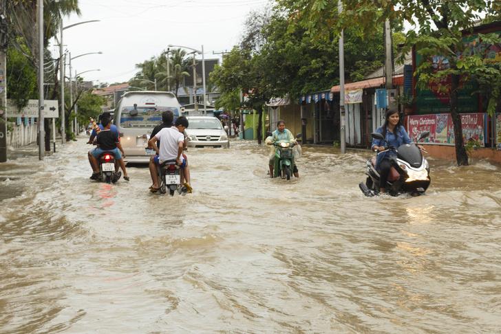 Фото №1 - Два острова в Таиланде объявлены зоной стихийного бедствия