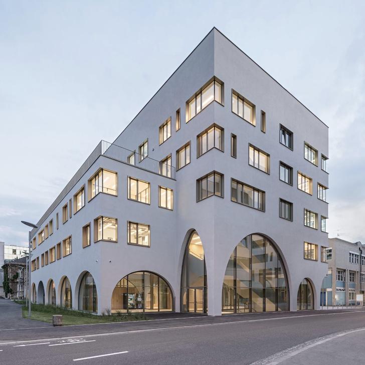Фото №1 - Новое здание медицинского института в Зальцбурге