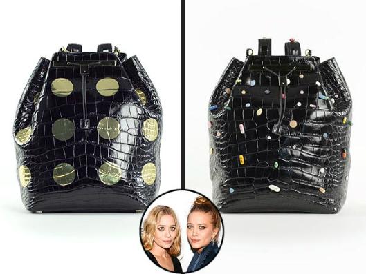 Фото №2 - Мэри-Кейт и Эшли Олсен представили экстравагантный аксессуар