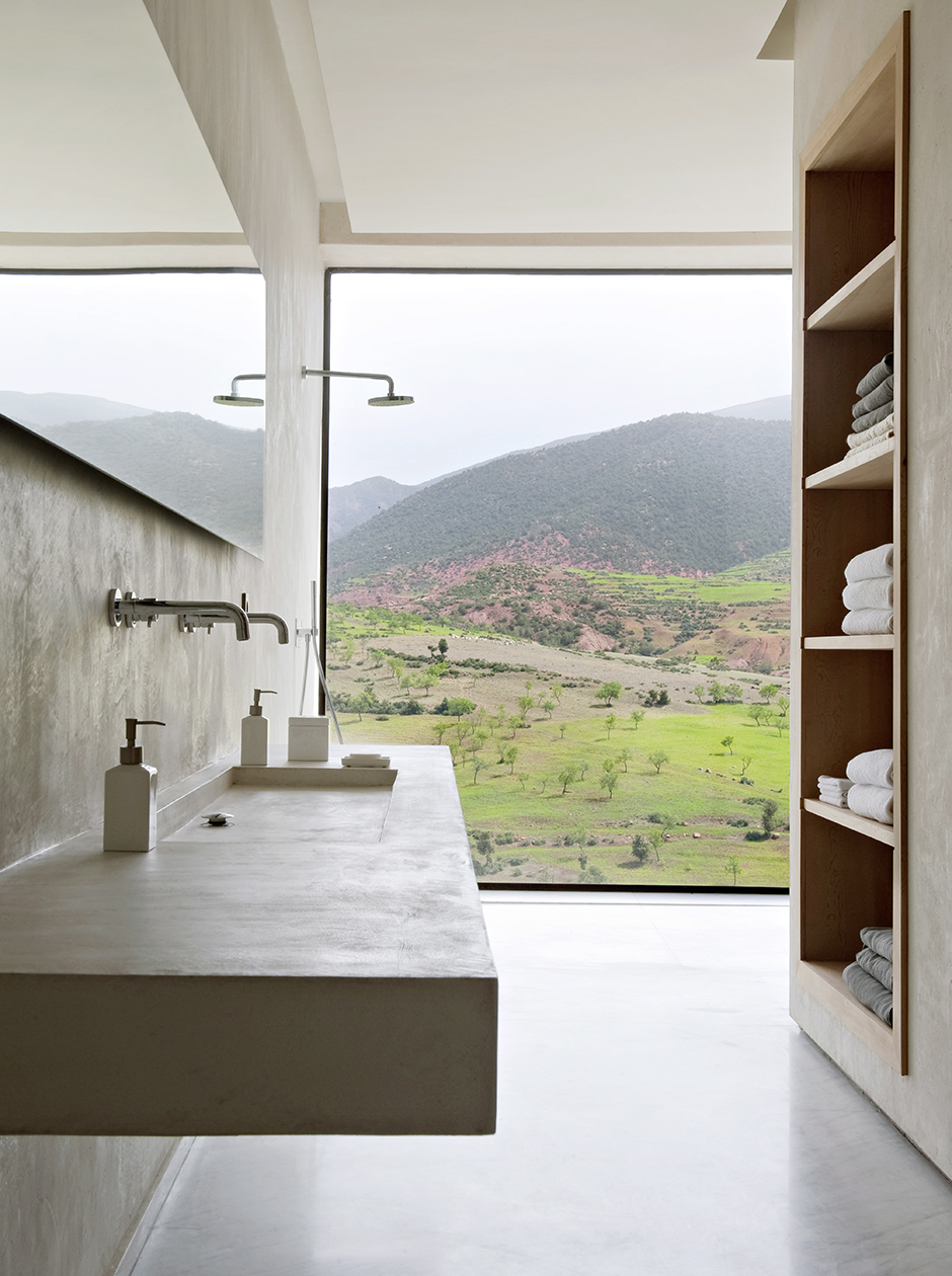 30 ванных комнат в загородных домах (галерея 0, фото 0)