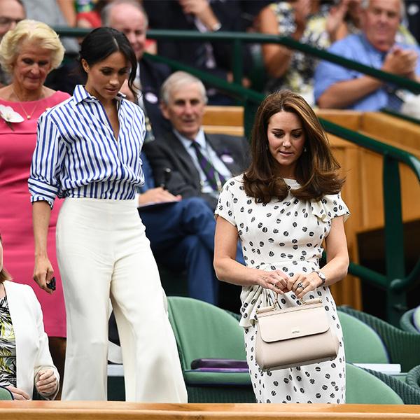 Фото №13 - Кейт в горошек и Меган в полоску: на что намекают две герцогини