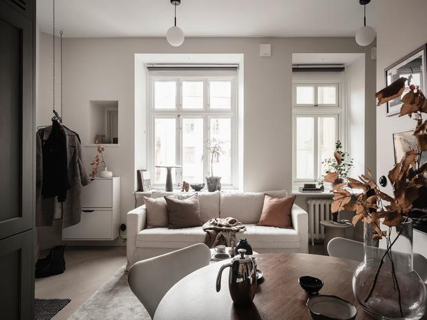 Фото №2 - Уютная, светлая студия 31 м² в Гетеборге