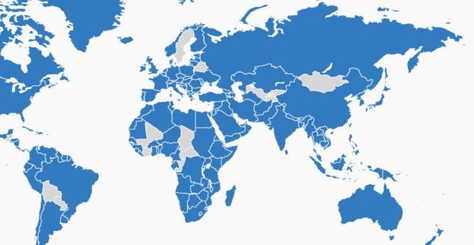Фото №1 - 22 страны, в которые никогда не вторгалась Великобритания (карта)