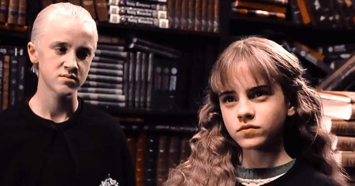 Фото №2 - «Гарри Поттер»: Почему Малфой и Гермиона были бы идеальной парочкой