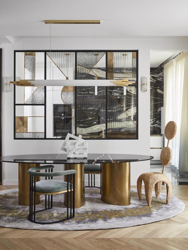 Фото №6 - Квартира с элементами нового ар-деко в Париже