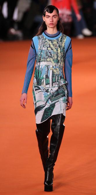 Фото №42 - Print it: самые модные принты сезона осень-зима 16/17