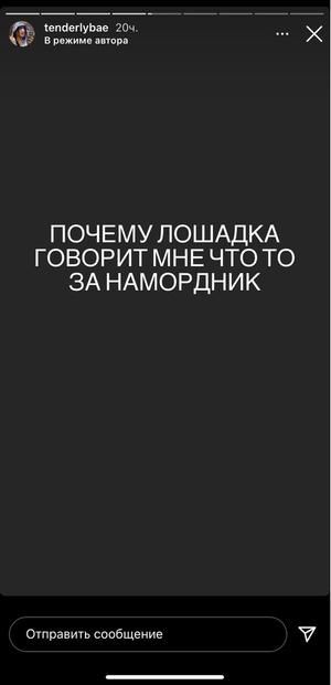 Фото №1 - Амина Tenderlybae захейтила Ксению Собчак и даже обозвала телеведущую 🙄