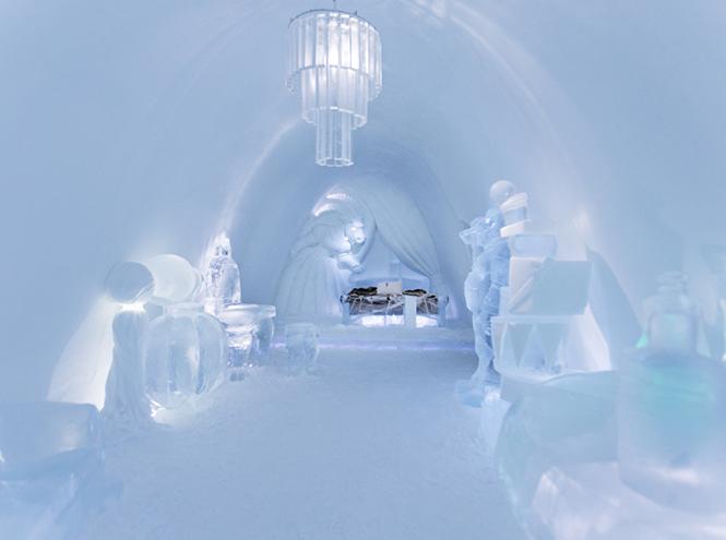 Фото №1 - В Швеции снова построят отель изо льда