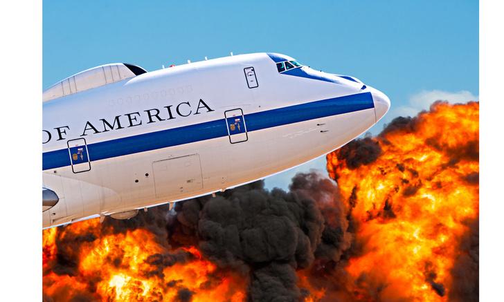 Фото №1 - Самолет «Судного дня»: вот как он выглядит внутри (видео)