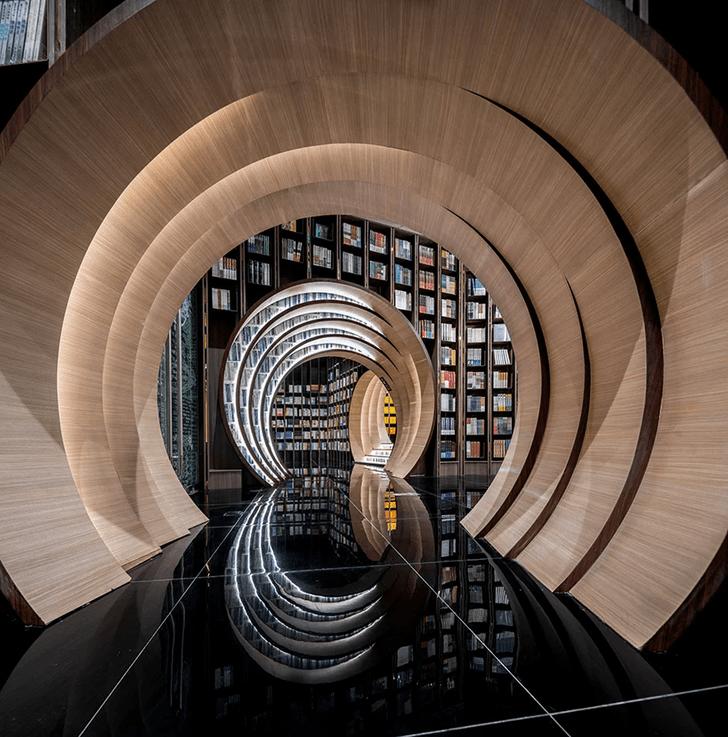 Фото №2 - Футуристичный книжный в Пекине по проекту X+Living