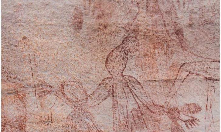 Фото №1 - В Австралии обнаружили новый вид наскального рисунка