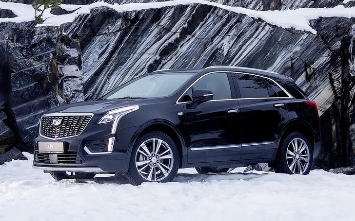 Фото №1 - Cadillac XT5: души меня нежно