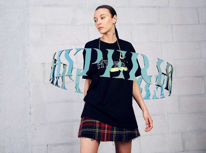 Фото №2 - Коллаборация ZNY и glo™ Hyper: одежда, «оживающая» в дополненной реальности