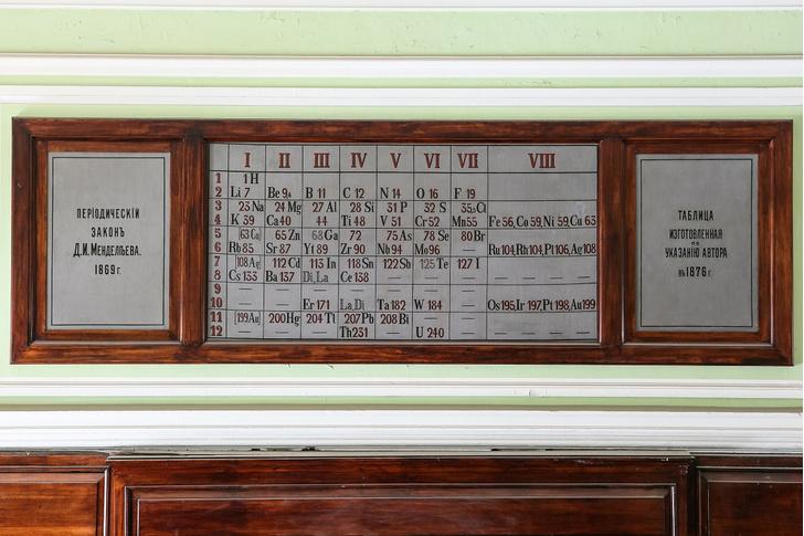 Фото №1 - Старейшая таблица Менделеева обнаружена в России