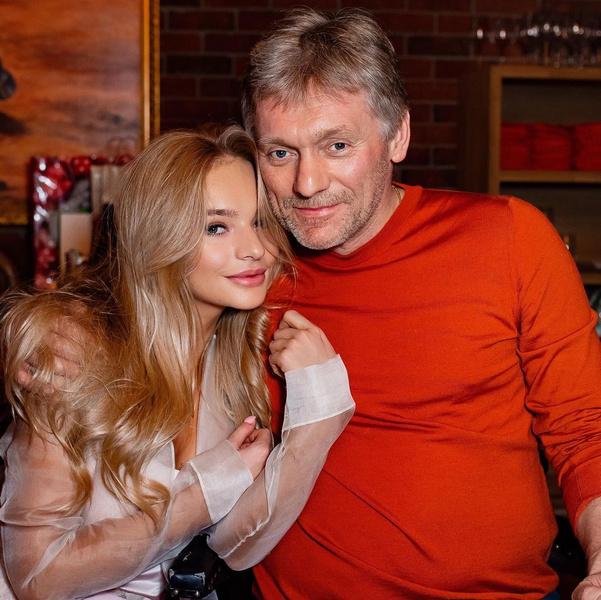 Дмитрий и Лиза Песковы фото
