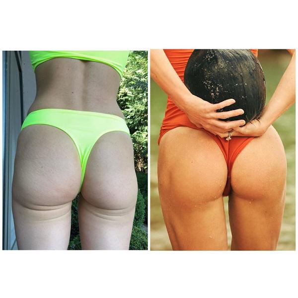 Фото №2 - До и после: Тетя Мотя показала, как изменилась ее попа за несколько лет