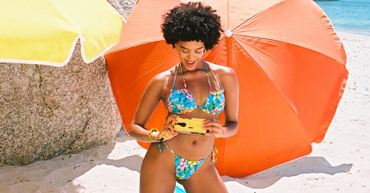 Фото №3 - Роскошные ритуалы на пляже или у бассейна: новая коллекция Calzedonia х LIGNE ST BARTH