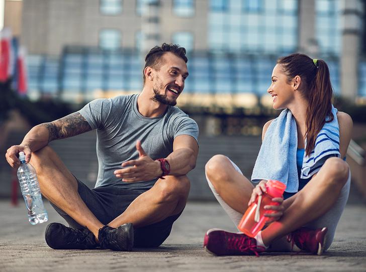 Фото №5 - 6 причин, почему заниматься спортом нужно с любимыми