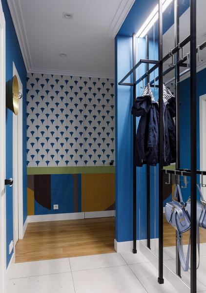 Фото №14 - Квартира молодой девушки в стиле mid-century modern 68 м²