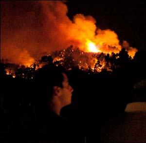Фото №1 - От пожаров в Греции удалось отстоять Олимпию