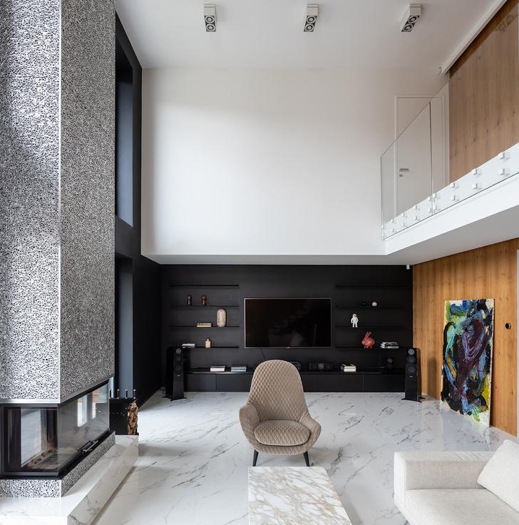 Фото №5 - Трехэтажный особняк по проекту Sergey Makhno Architects в Киеве