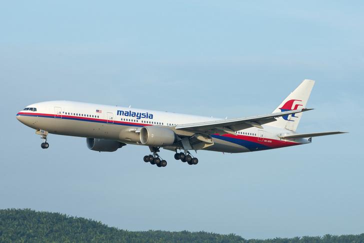 Фото №1 - Математики объяснили бесследное исчезновение малайзийского Boeing