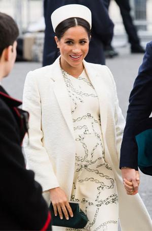 Фото №5 - Лучшие образы герцогини Меган в 2019 году