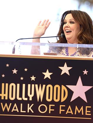 Фото №7 - Мелисса МакКарти удостоена звезды на Аллее cлавы