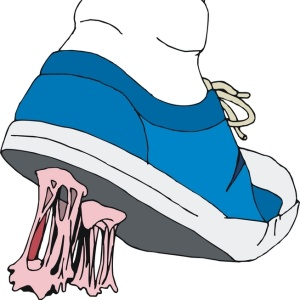 Фото №1 - Британские ученые разработали жевательные резинку, которая не липнет к одежде