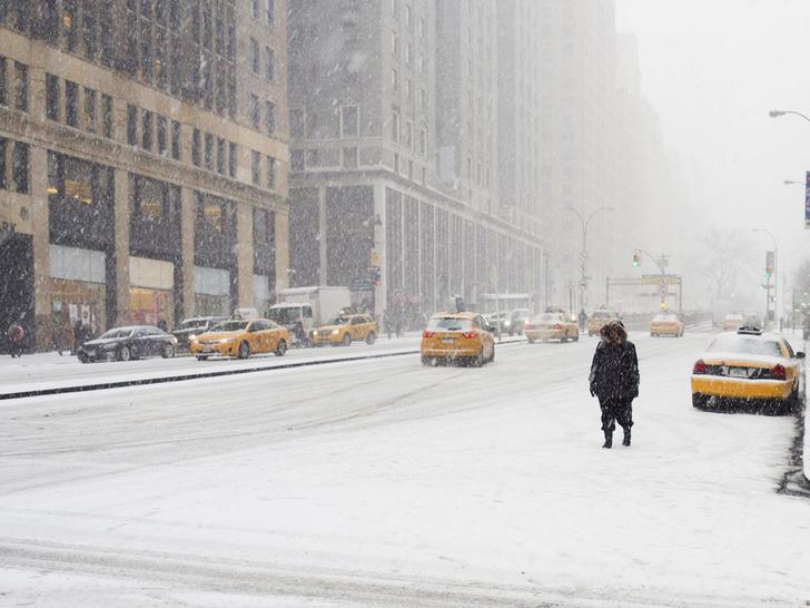 Фото №1 - Нью-Йорк оказался вснежномплену