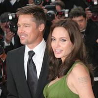 Актеры Брэд Питт и Анджелина Джоли на Каннском кинофестивале