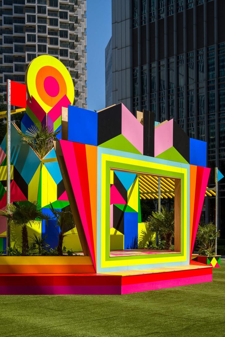 Фото №5 - Яркий павильон в деловом квартале Лондона