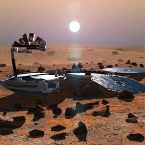 Фото №1 - Есть ли жизнь на Марсе?