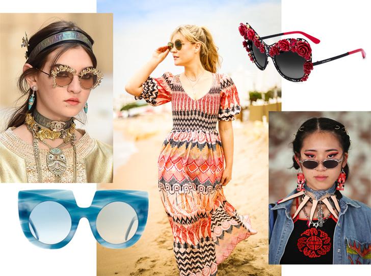 Фото №1 - Место под солнцем: самые модные очки этого лета