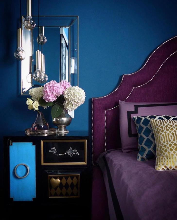 Фото №1 - Фиолетовый цвет в интерьере: 6 стильных идей